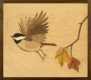 Autumn Chickadee for web