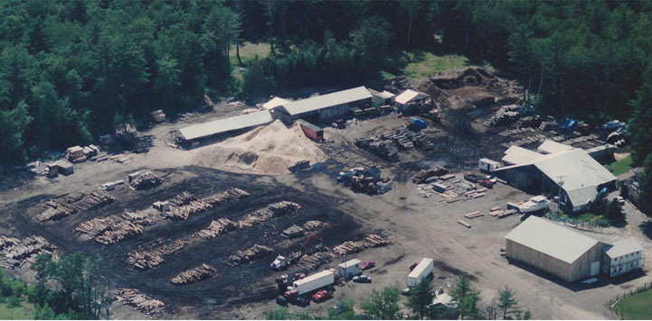 Arial View of Goosebay Sawmill & Lumber, Inc. in Chichester, NH