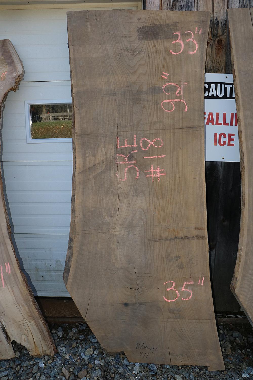 Live Edge Elm Slab Sre 18 Goosebay Sawmill And Lumber