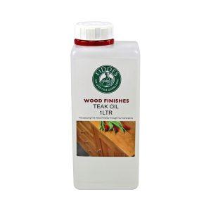 Photo of 1 Liter Bottle of Fiddes Teak Oil