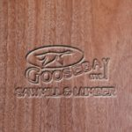 Close-up Photo of African Mahogany Wood Grain