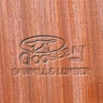 Close-up Photo of Padauk Wood Grain