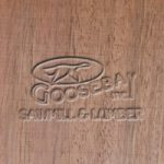 Close-up Photo of Peruvian Walnut Wood Grain