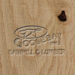 Close-up Photo of Rough Sawn Native Green Oak Wood Grain