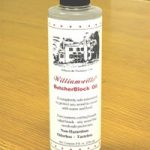 Photo of Bottle of Williamsville Butcher Block Oil