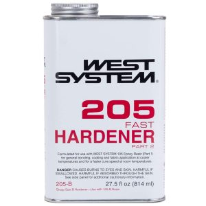 Photo of Bottle of West System 205 Fast Hardener Part 2