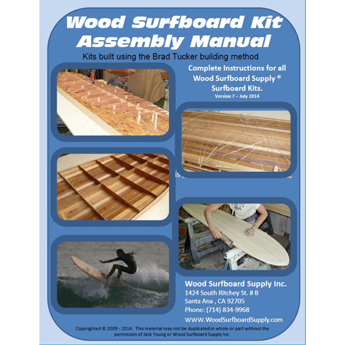 Photo of Wood Surfboard Kit Assembly Manual