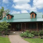 Photo of House with ABC Metal Roofing SL-16 Panel on Roof