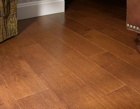 Photo of Maine Traditions Classic Collection Flooring Hard Maple Whiskey Stain