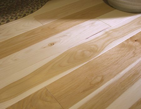 Photo of Maine Traditions Classic Collection Flooring Hickory Natural Stain