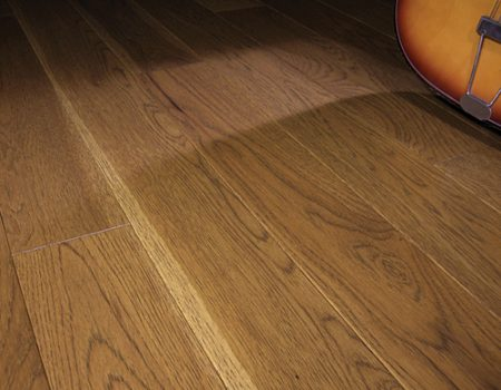 Photo of Maine Traditions Classic Collection Flooring Hickory Saddle Stain