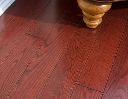 Photo of Maine Traditions Classic Collection Flooring Red Oak Cranberry Stain