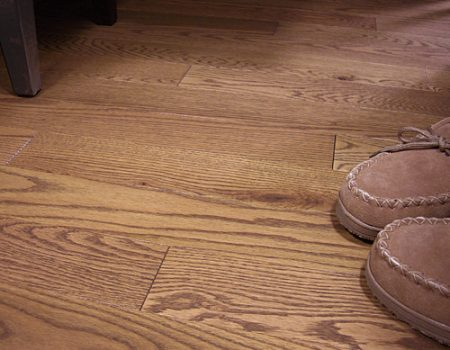 Photo of Maine Traditions Classic Collection Flooring Red Oak Suede Stain