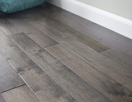 Photo of Maine Traditions Classic Collection Flooring Hard Maple Graphite Stain