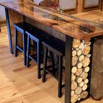 Live Edge River Table by Jay Seaton Goosebay Lumber Chichester NH