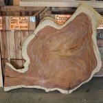 Photo of Irregular guanacaste wood live Edge Round