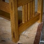 Close up photo of Craftsman Furniture Joinery