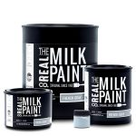 Photo of 4 sizes of Real Milk Paint cans