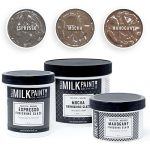 Photo of 3 colors and sizes of Real Milk Paint Co. Finishing Glazes.